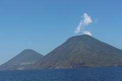 Salina, Alicudi und Ueberfahrt Sardinien